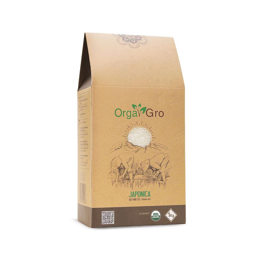 Gạo hữu cơ Japonica OrgaGro