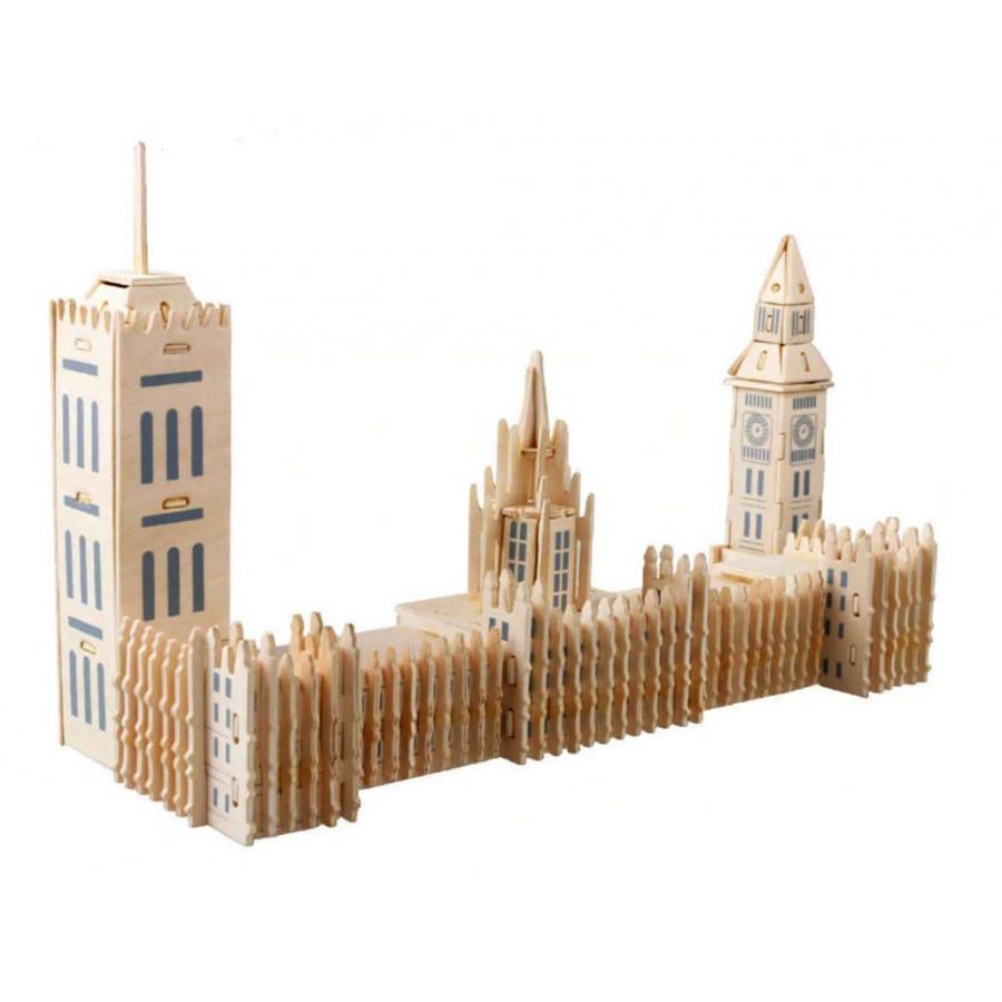 Bộ xếp hình 3D bằng gỗ TÒA THÁP BIGBEN ALCC