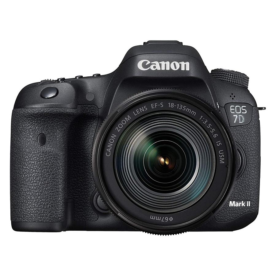 Máy Ảnh Canon 7D Mark II Kit 18-135mm IS Nano USM ( Hàng Nhập Khẩu ) - Tặng Thẻ 16G + Tấm Dán LCD