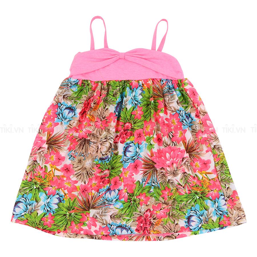 Áo Váy Trẻ Em Nữ Hàn Quốc Orange Factory Selkop01 - Hồng (Freesize)