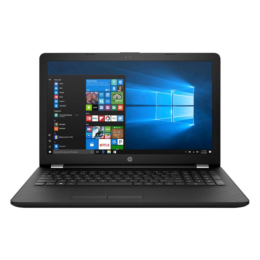 Laptop HP 15-bs554TU 2GE37PA Core i3-6006U/Dos (15.6 inch) - Đen - Hàng Chính Hãng