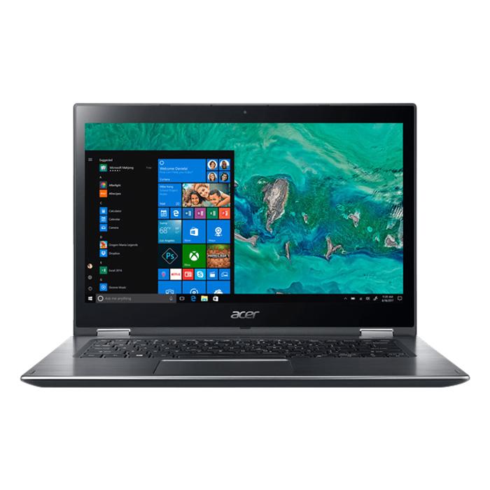 Laptop Acer Spin 3 SP314-51-57RM NX.GUWSV.004 Core i5-8250U/Win10 (14 inch) - Hàng Chính Hãng - Grey