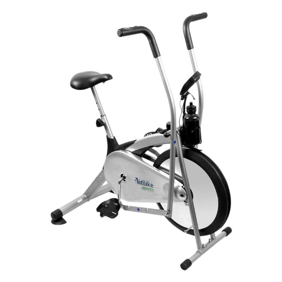 Xe đạp tập thể dục air bike BG 8701 - Xám