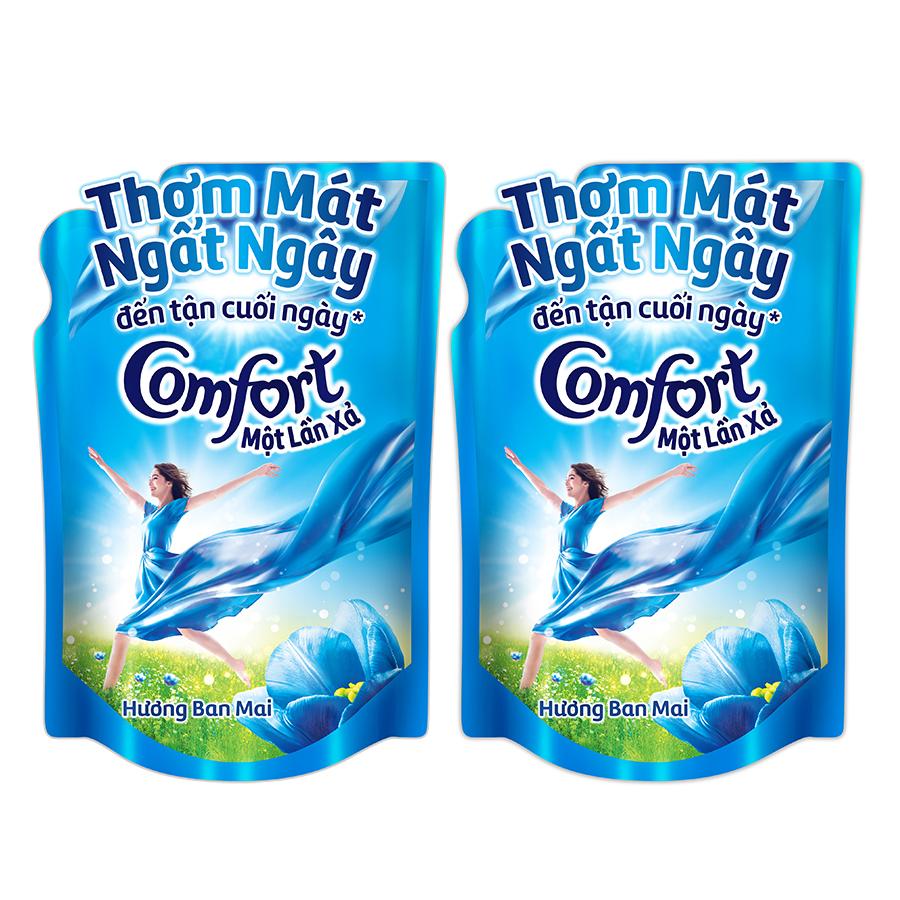 Combo 2 Nước Xả Vải Comfort Một Lần Xả Hương Ban Mai 67349994 (1.6L / Túi)