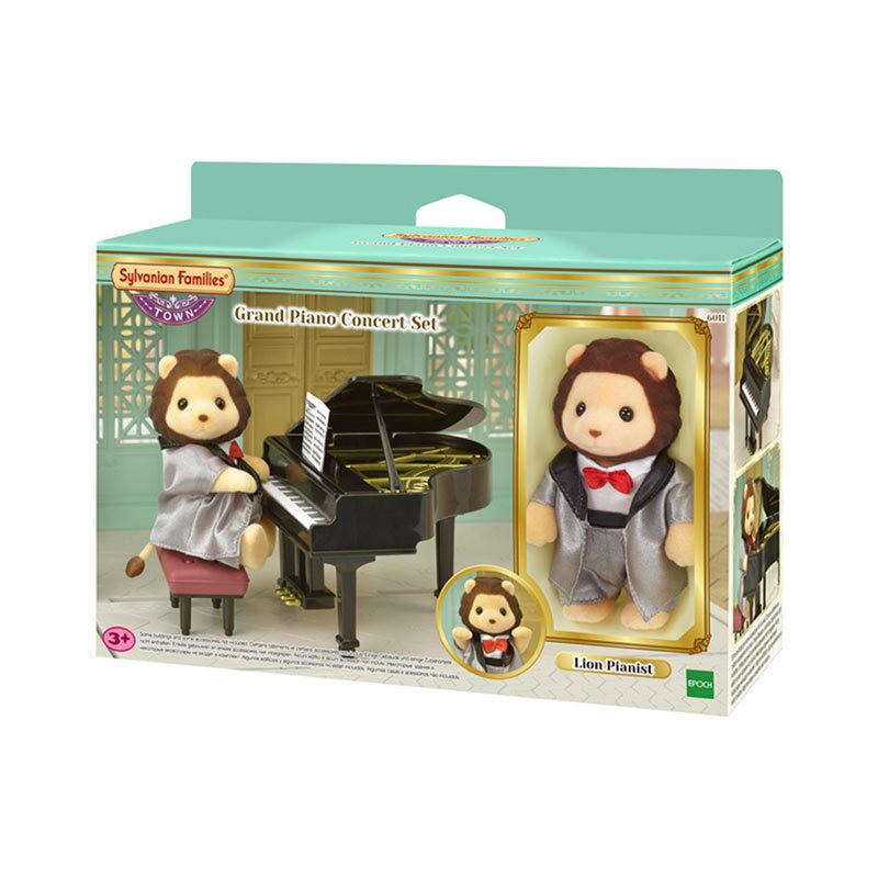 Sylvanian Families - Bộ Hòa Nhạc Đàn Piano EP6011 Golden Kid