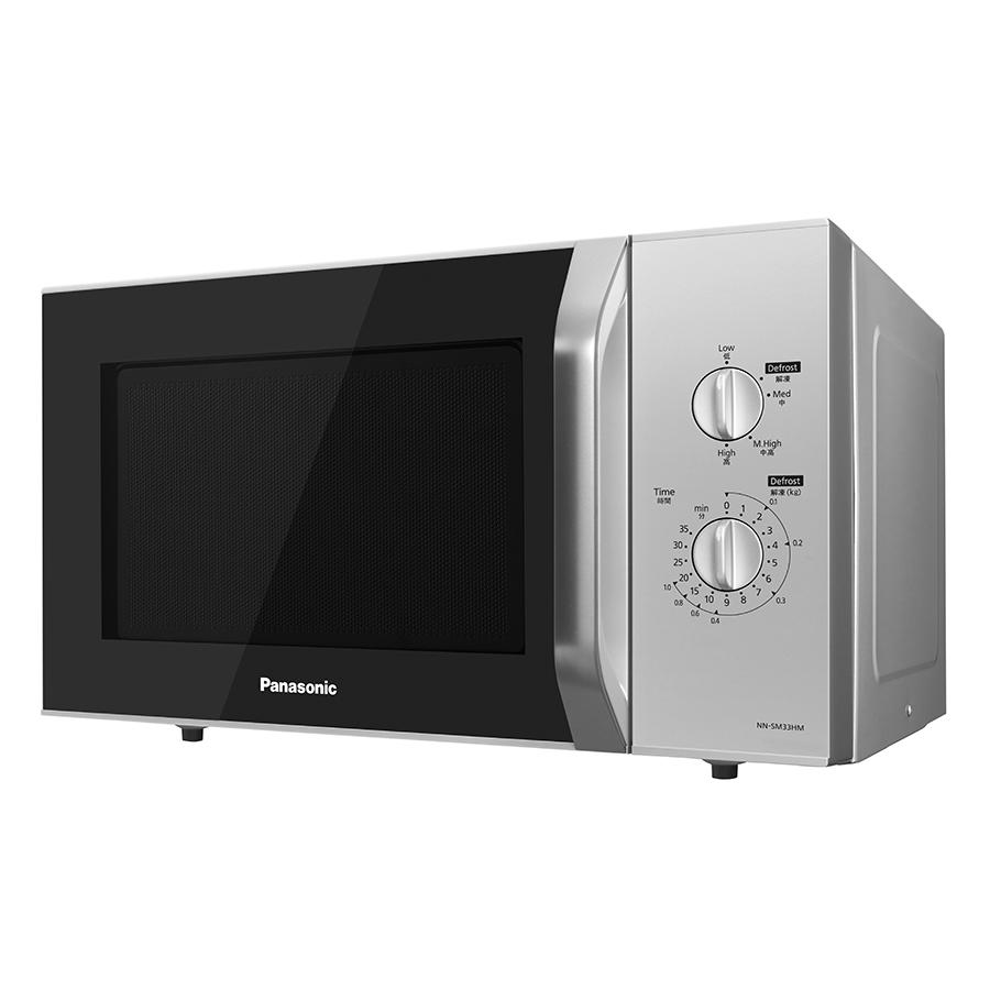Lò Vi Sóng Panasonic NN-SM33HMYUE (800W) - Trắng Đen