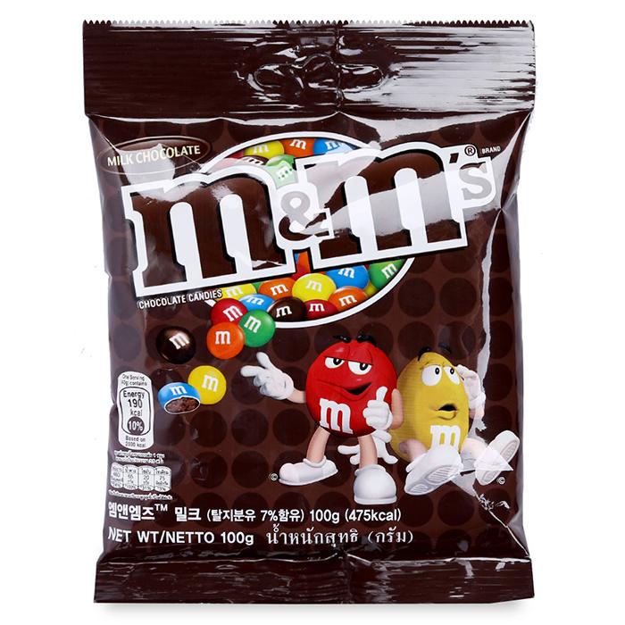 Kẹo Sô Cô La Sữa MM's (100g)