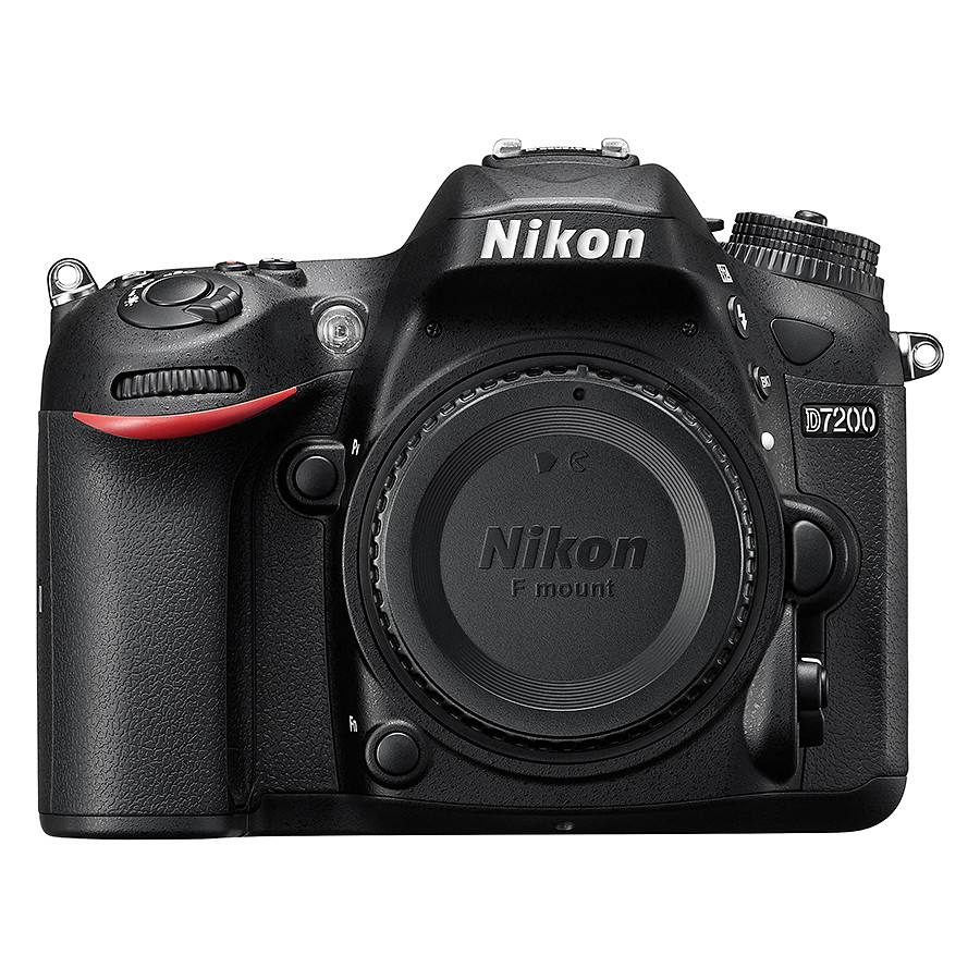 Máy Ảnh Nikon D7200 Kit 18 - 55mm VR II (24.2 MP) (Hàng Chính Hãng)  - Tặng Thẻ 16G + Túi Máy + Tấm Dán LCD