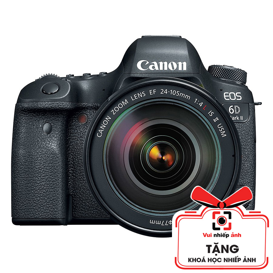 Máy Ảnh Canon EOS 6D MARK II + Lens Canon 24-105mm F4L IS II USM (Lê Bảo Minh)