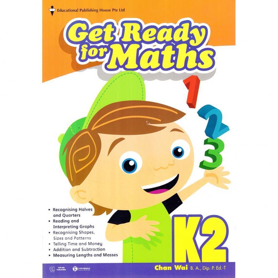 Sách giáo khoa Toán Singapore lớp mẫu giáo - K2 Get Ready for Maths