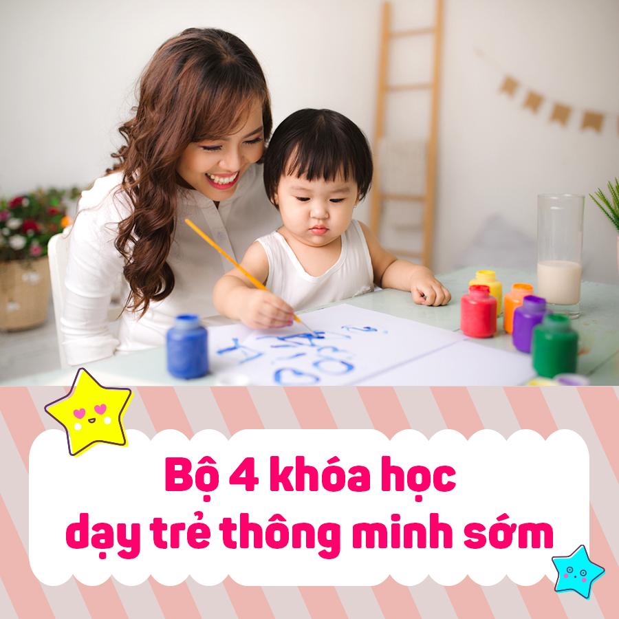 Bộ 4 Khóa Học Dạy Trẻ Thông Minh Sớm KYNA KID08