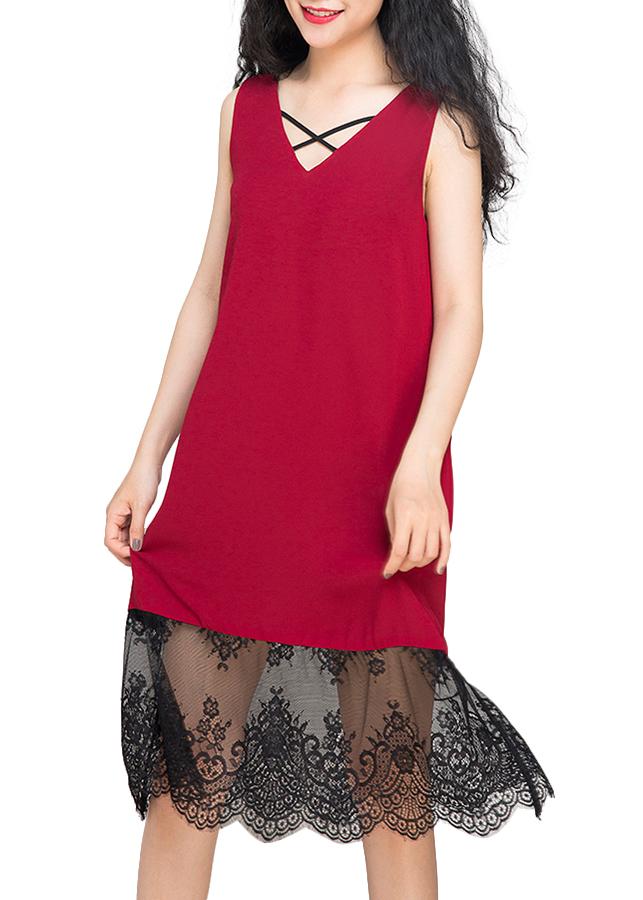 Đầm Suông Hity DRE058 - Đỏ