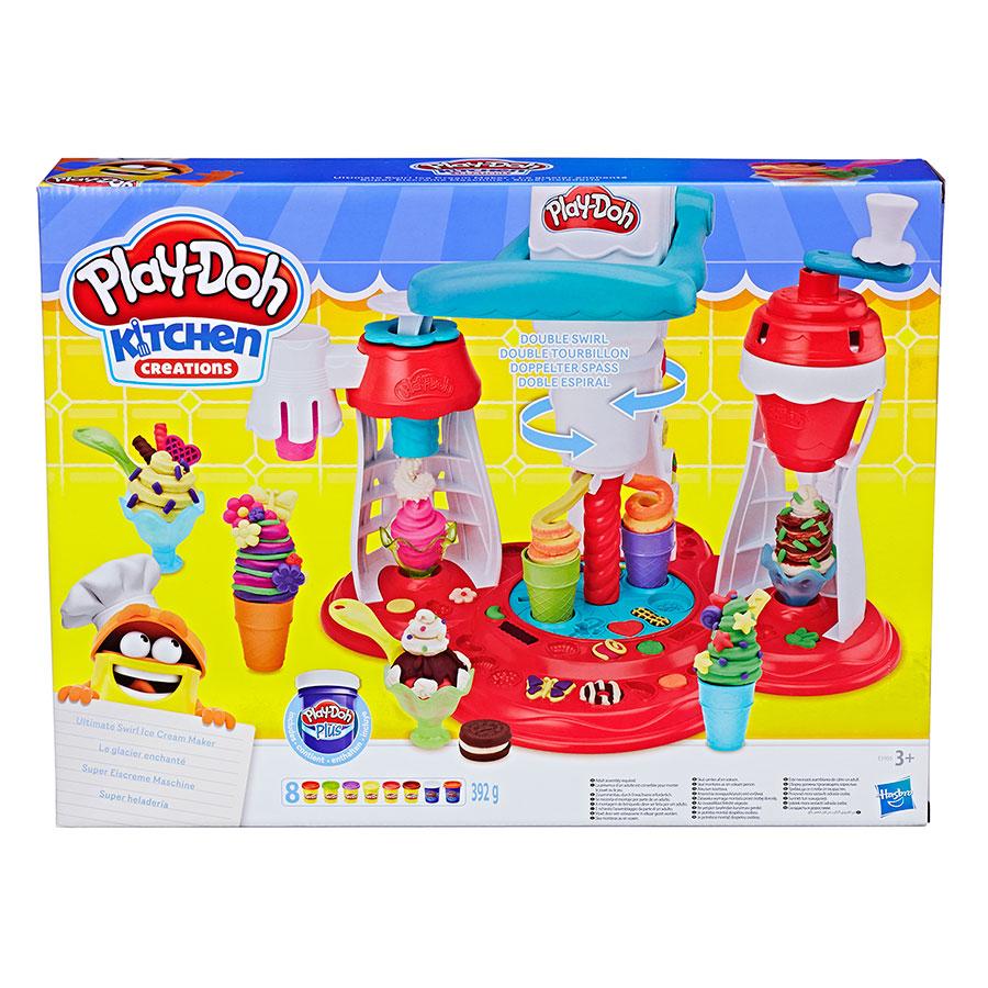 Máy Làm Kem Lốc Xoáy Play-Doh E1935