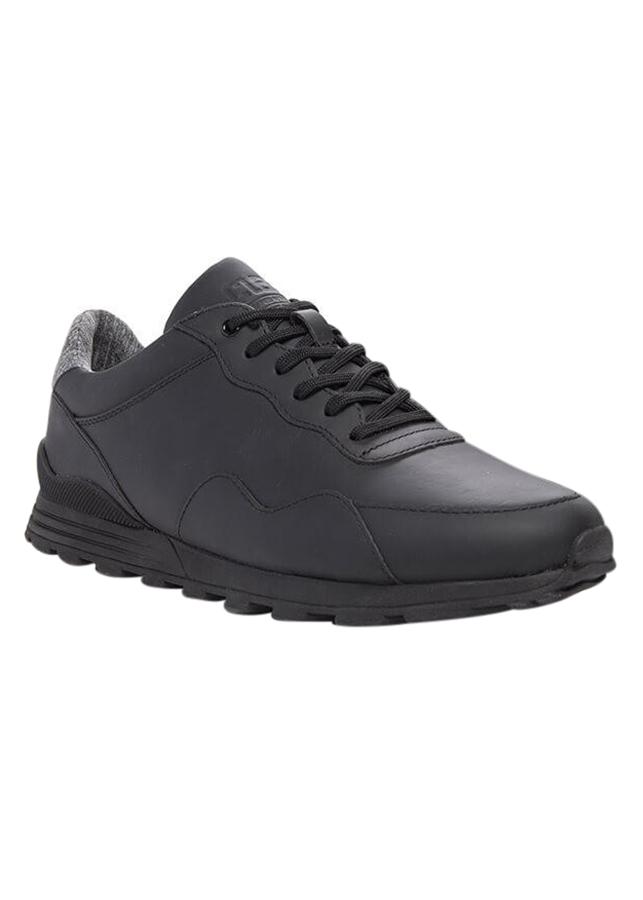 Giày Hoffman Clae CLA01289 Black Coated Leather
