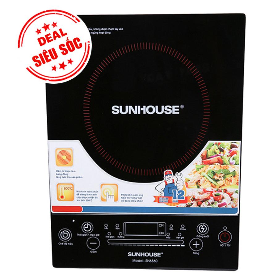 Bếp Điện Từ Cảm Ứng Sunhouse SH6860