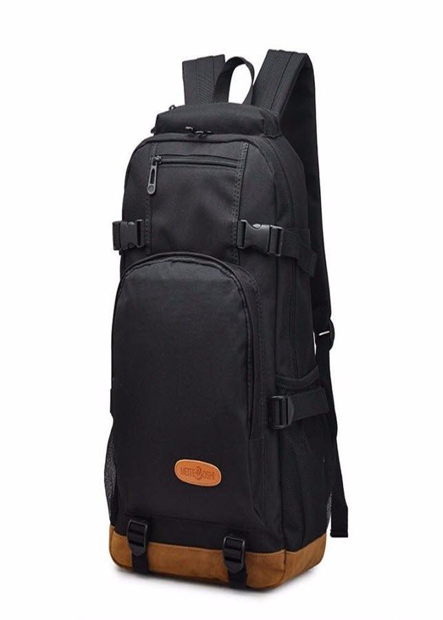 Balo du lịch hàng đảm bảo chất lượng màu đen DB29TI