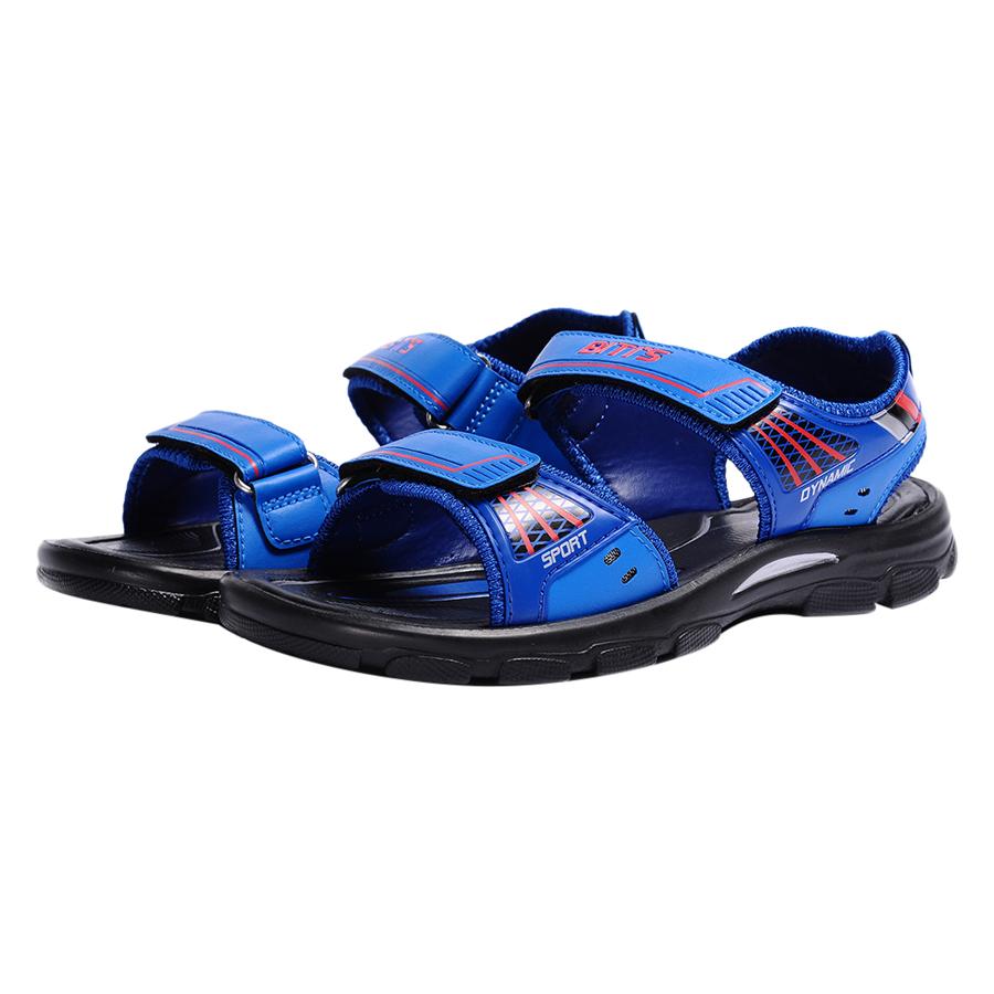 Giày Sandal Si - PU Bé Trai Biti's DPB054600XDG - Xanh Dương