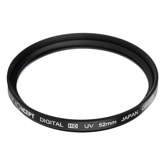 Kính Lọc KF Concept Filter Slim UV Digital HD - Japan Optic - Size 62mm (Đen) - Hàng Nhập Khẩu