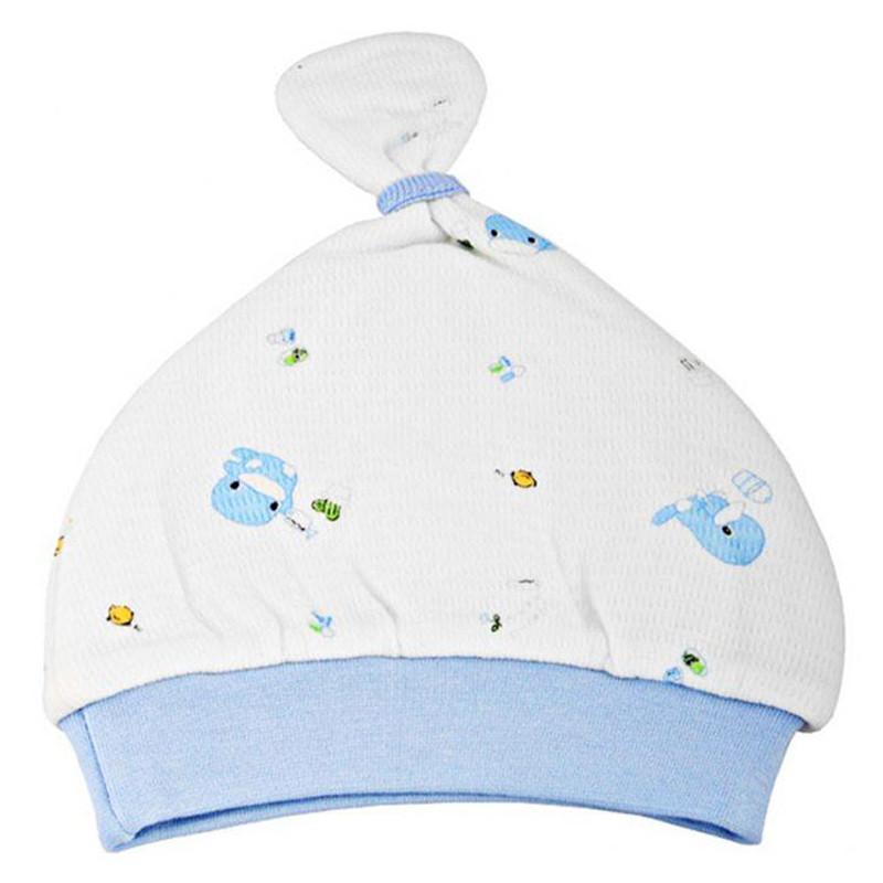 Nón cho bé sơ sinh Kuku màu xanh - KU2156X