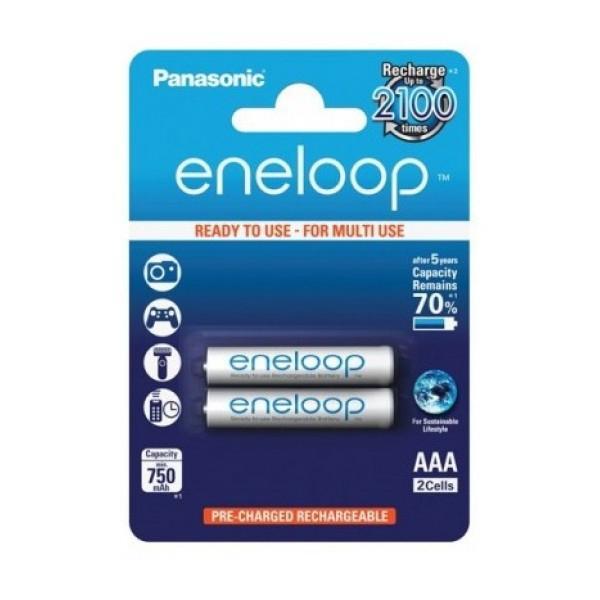 Bộ 2 Pin AAA Panasonic Eneloop 800mAh
