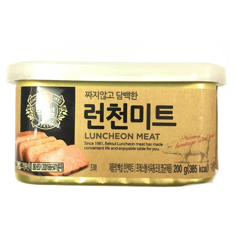 Thịt Hộp Luncheon 200g từ CJ FOODS - Nhập Khẩu Hàn Quốc