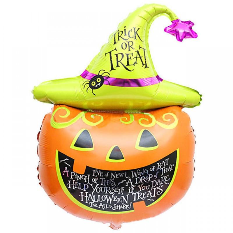 Bóng bí ngô trang trí Halloween cỡ to
