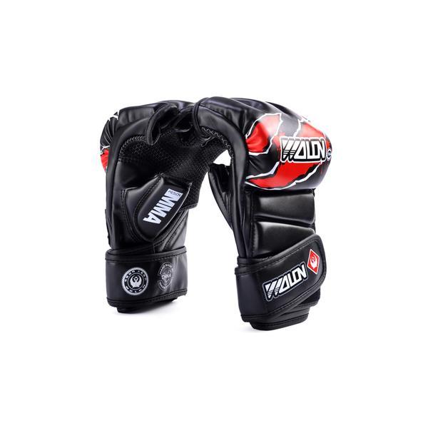 Găng tay MMA Gloves Wolon Fighter - Đen