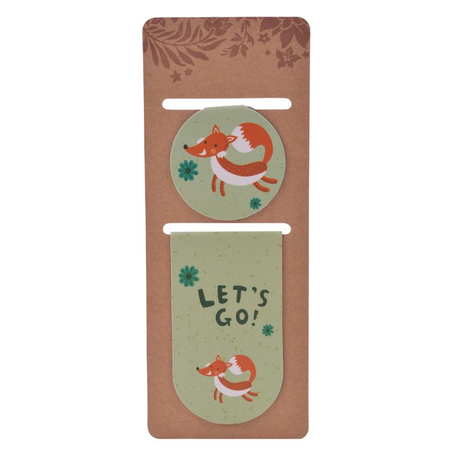 Bookmark Magnet JK House - Let's Go