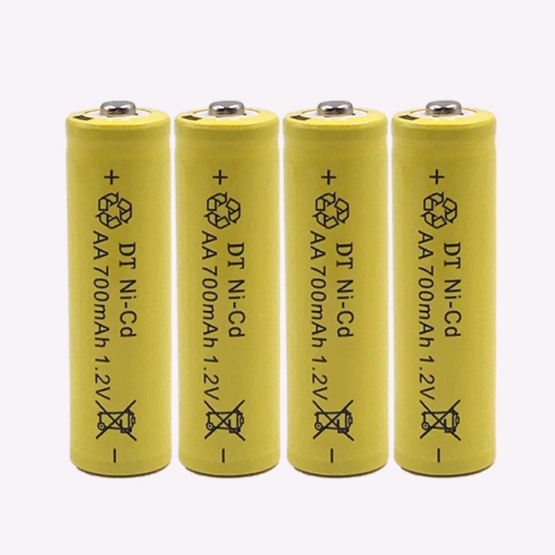 Bộ 4 Pin Sạc AA 700mAh 1.2V Ni-Cd