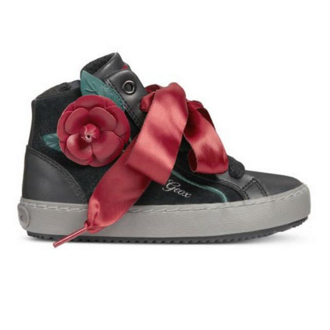 Giày Sneakers Bé Gái J Kalispera G. C Geox - Black