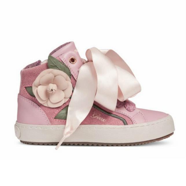 Giày Sneakers Bé Gái J Kalispera G. C Geox - Dk Rose