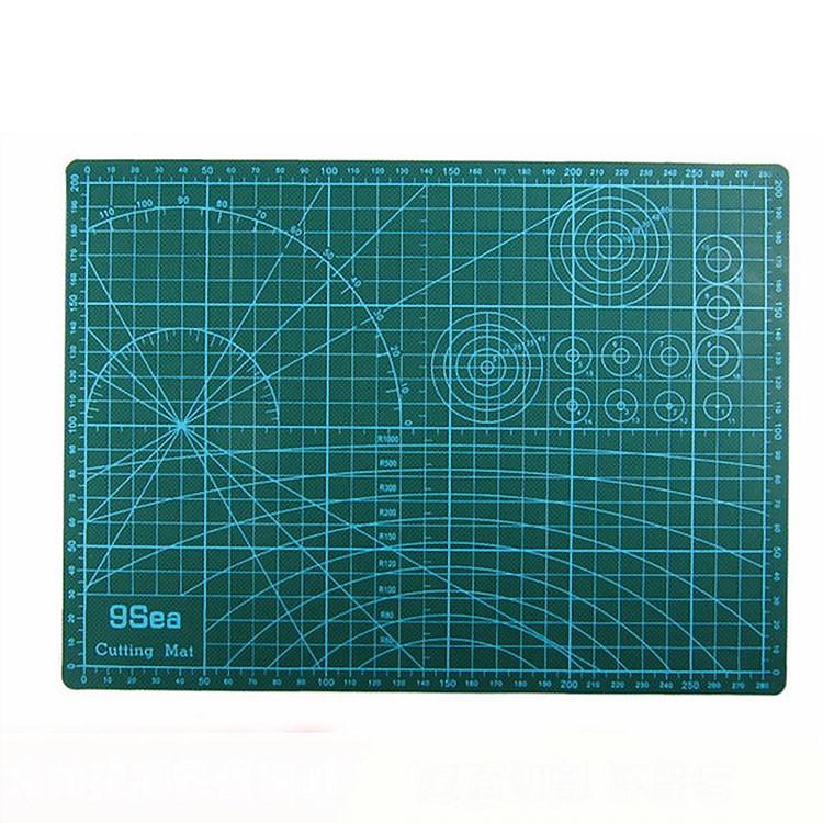 Tấm lót cắt giấy Cutting mat khổ A4 - Thớt cắt giấy Kirigami