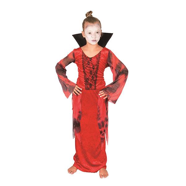 Bộ Đồ Hóa Trang Ma Cà Rồng Halloween Nữ Uncle Bills UH00782 - Đỏ