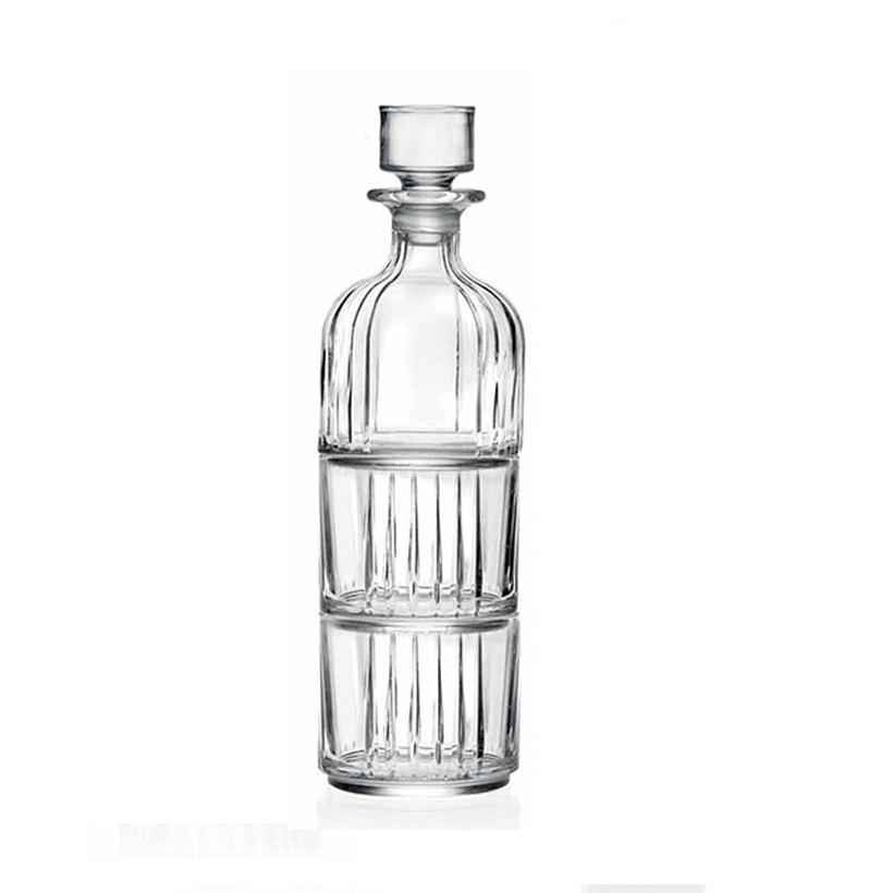 Bộ bình và 2 ly rượu pha lê RCR Crystal Combo