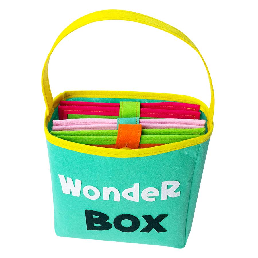 Sách Vải Baby Wonder Box (Bé 0 - 2 Tuổi)