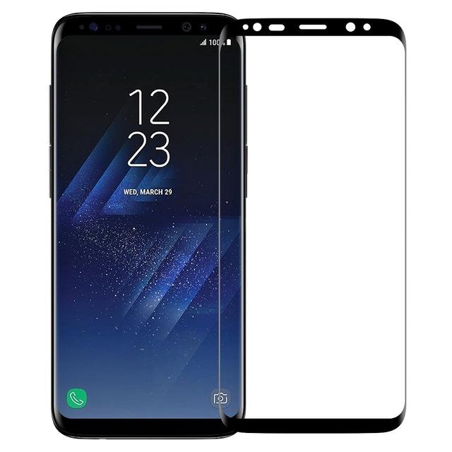 Miếng dán kính cường lực dành cho Samsung Galaxy S8 Baseus 3D Arc cao cấp full màn hình vô cực - Hàng chính hãng