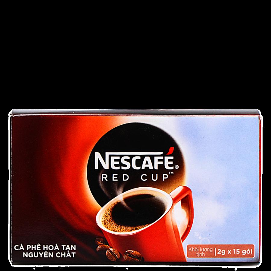 Hộp 15 Gói Cà Phê Nescafé Red Cup (2g)