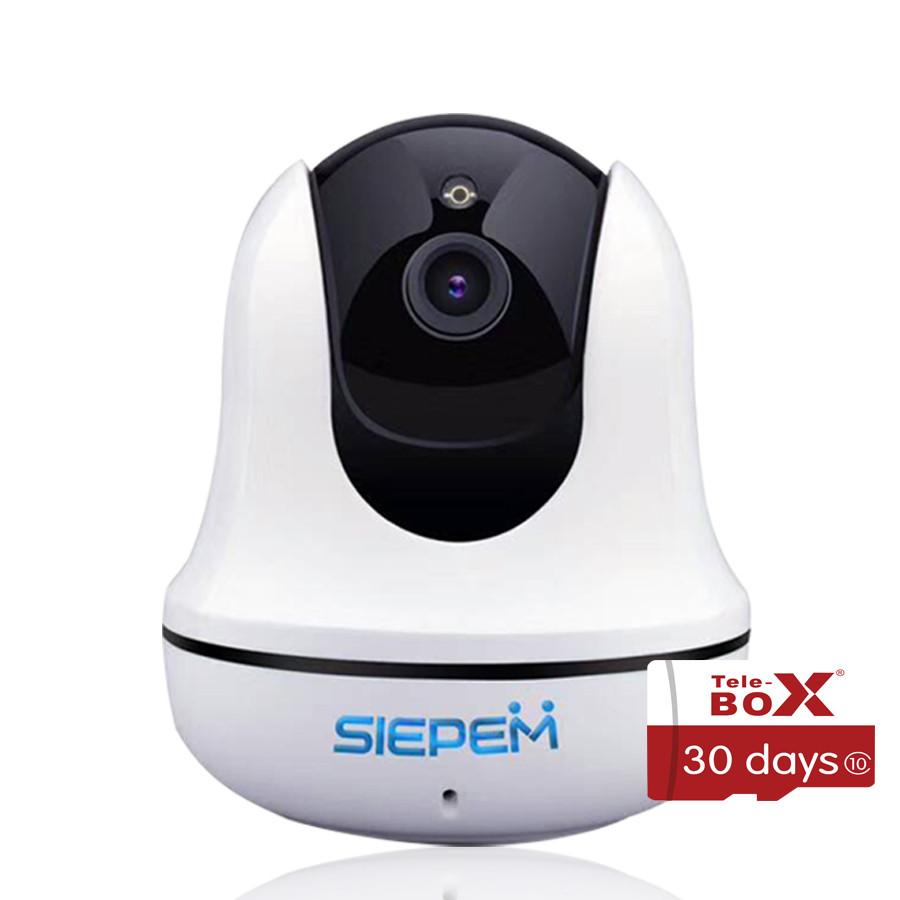 Camera IP Wifi Siepem S6816 2.0M 1080P Full HD + Kèm 1 Thẻ Nhớ 16Gb Class 10