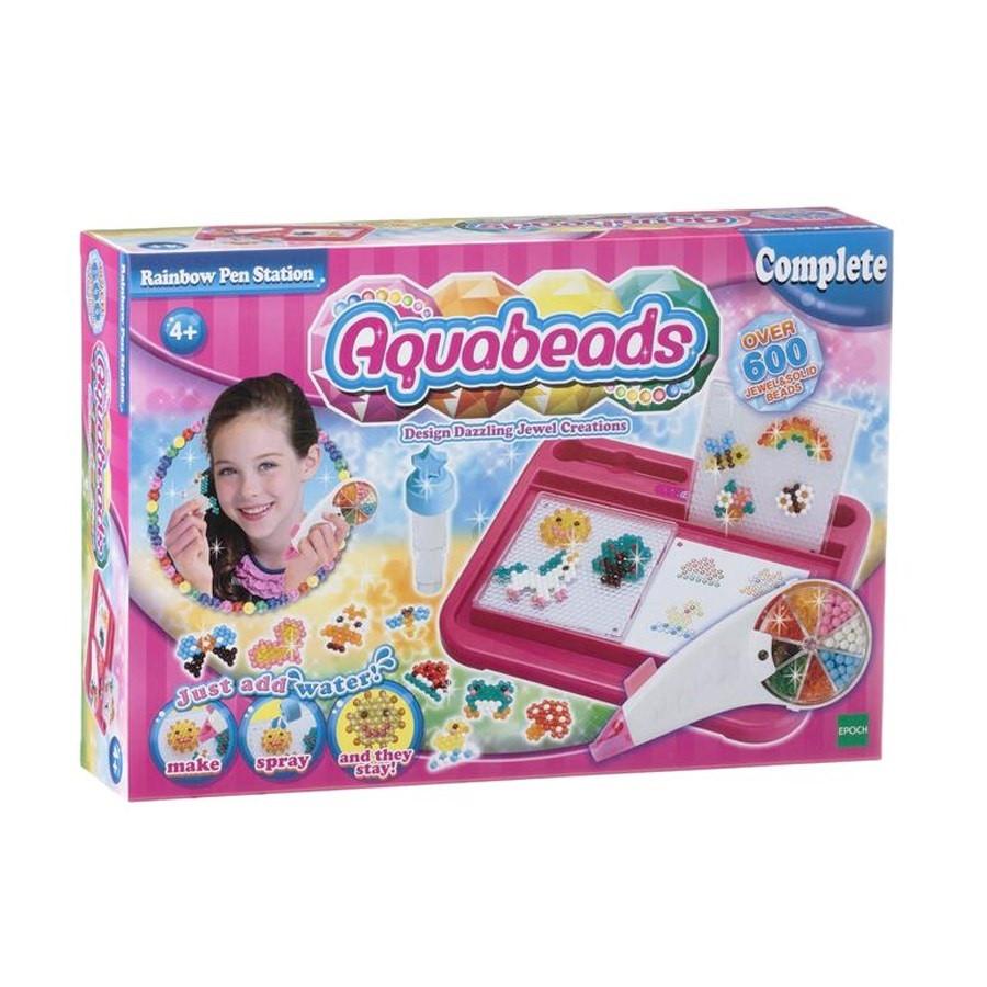 Bộ Aquabeads - Bút Cầu Vồng Golden Kid