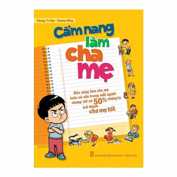 Sách làm cha mẹ - Cẩm Nang Làm Cha Mẹ