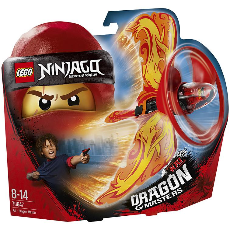 Lốc Xoáy Rồng Của Kai LEGO NINJAGO - 70647 (92 chi tiết)