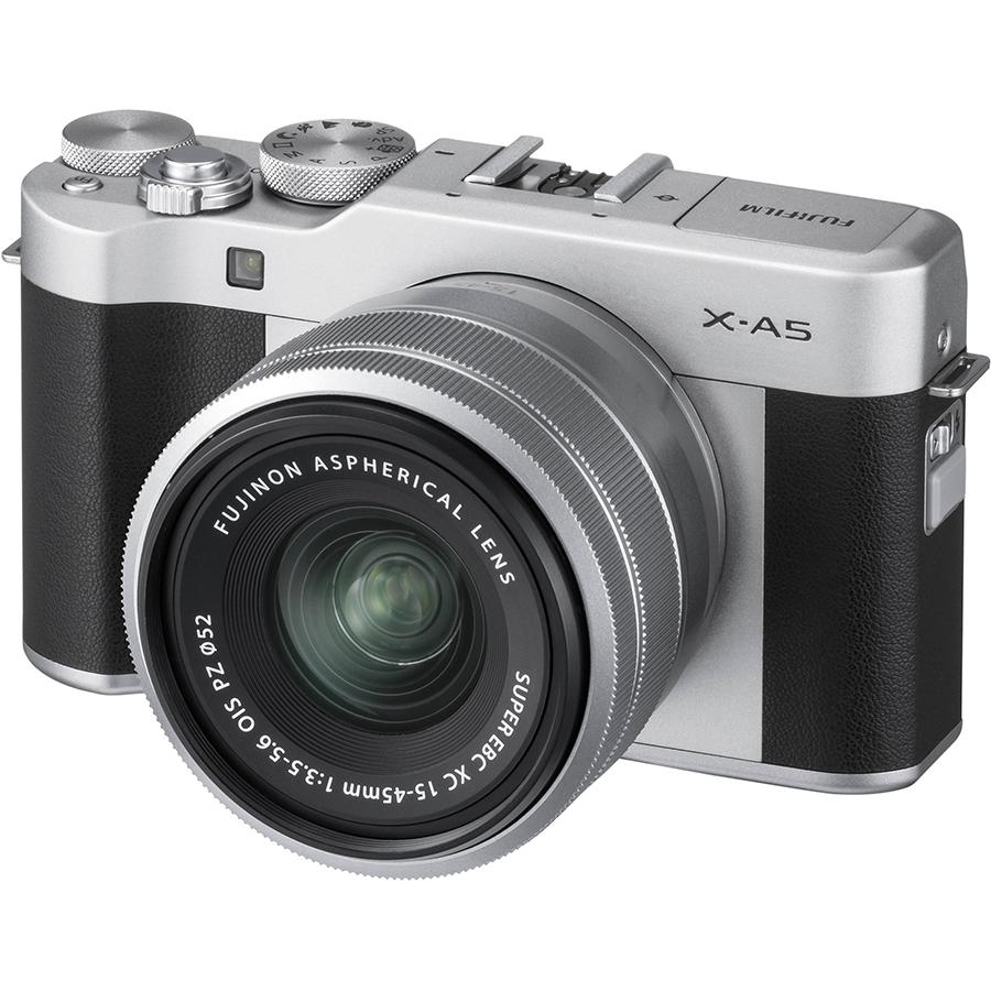 Máy Ảnh Fujifilm X-A5 Kit XC15-45mm f3.5-5.6 OIS (Bạc) + Thẻ Nhớ Sandisk 16GB Tốc Độ 48MB/s + Túi Đựng Máy Ảnh Fujifilm
