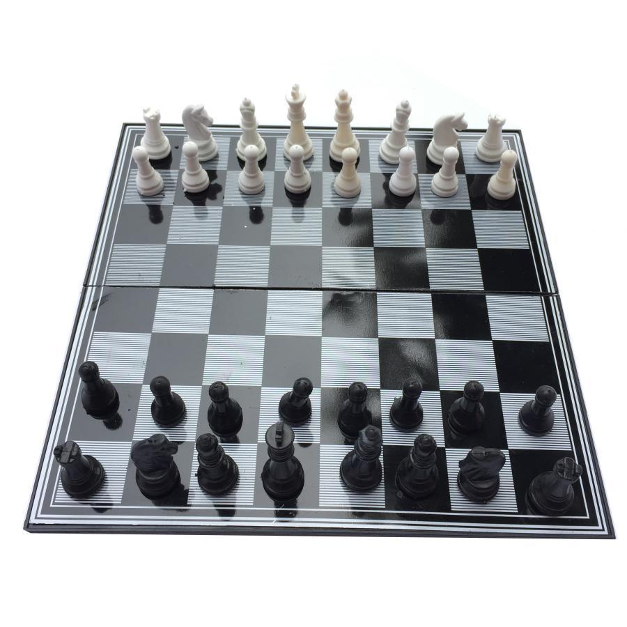 Bộ cờ vua nam châm 31cm x 31cm hộp đen