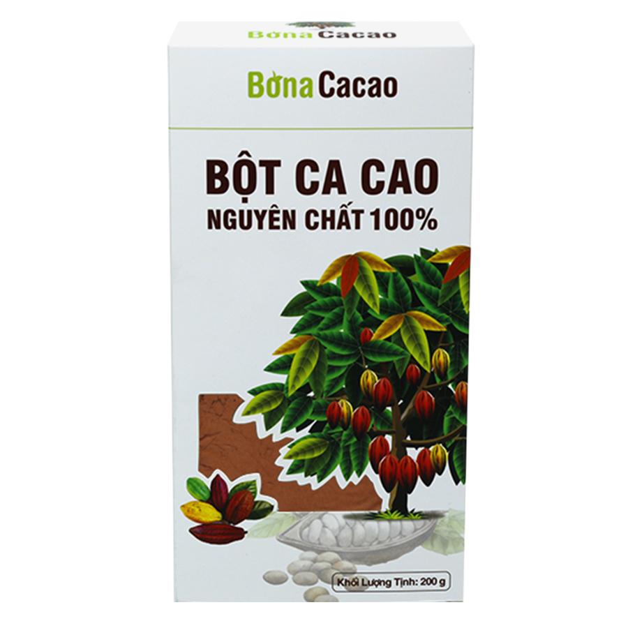 Bột Cacao Cao Cấp Bona Cacao Bona Coffee 200g