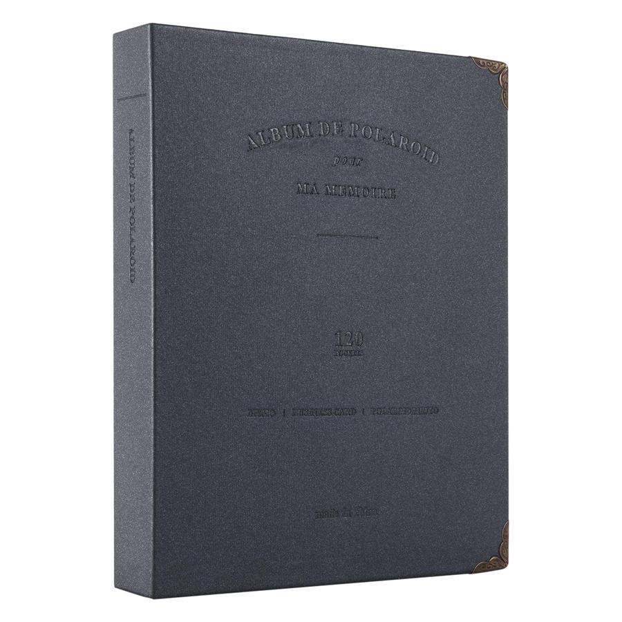 Album Đựng Ảnh De Polaroid (Black) - Hàng Nhập Khẩu