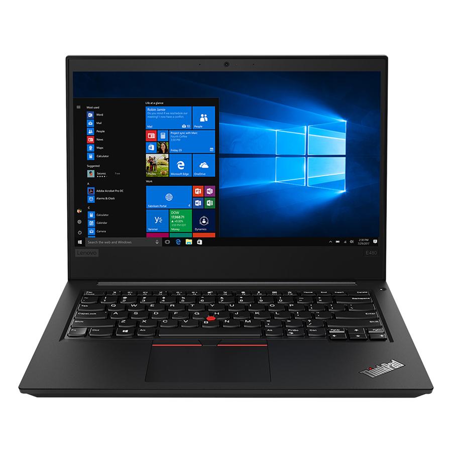 Laptop Lenovo ThinkPad Edge E480 20KN005GVA Core i5-8250U/Free Dos (14 inch) - Hàng Chính Hãng (Black)