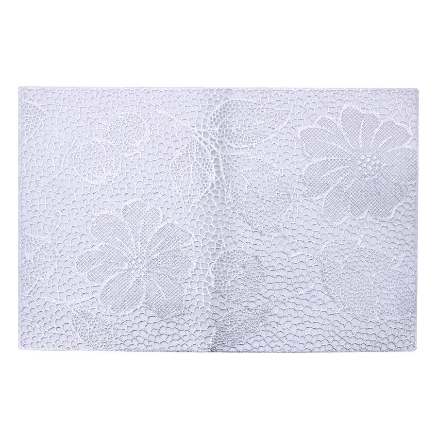 Miếng Lót Bàn Ăn PAULEE - FY 311S - Bạc (45 x 30 cm)