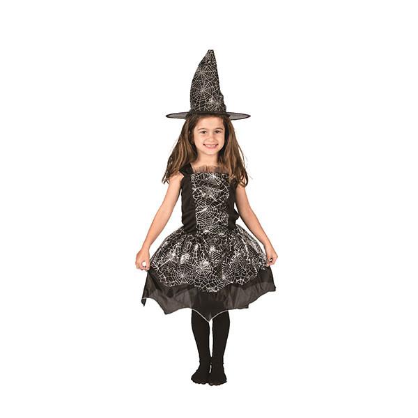 Bộ Đồ Hóa Trang  Phù Thủy  Nhện Halloween Uncle Bills UH00775 - Đen