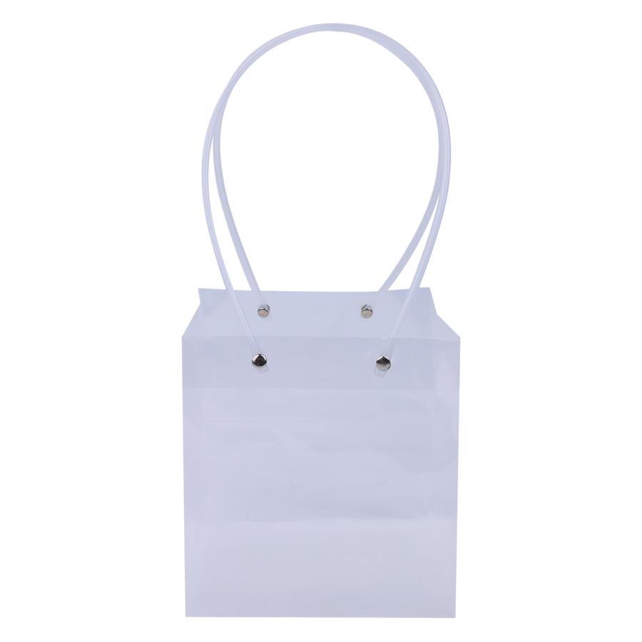 Túi Nhựa Trắng Vuông Đan Như