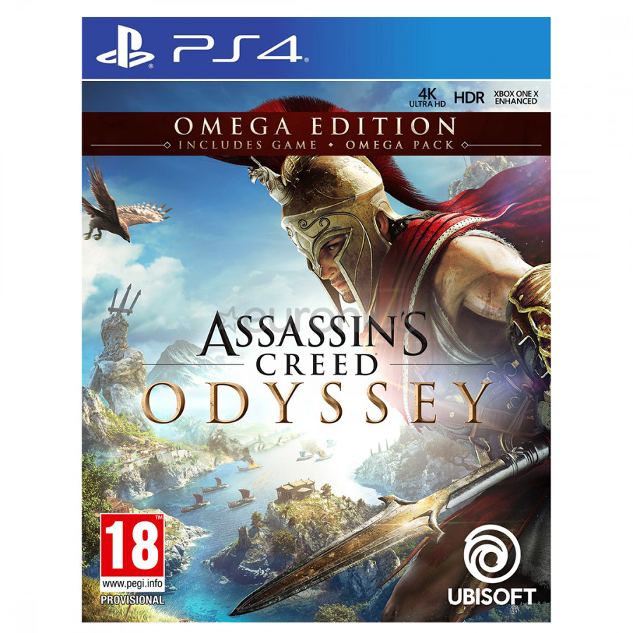 Đĩa Game Assassin'S Creed Odyssey Omega Edition - Asia